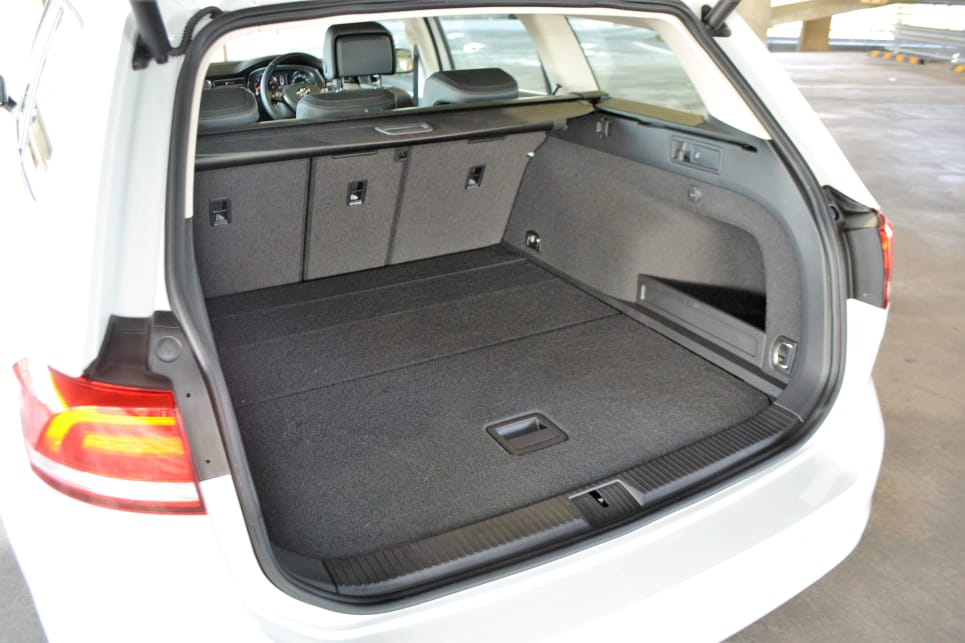 Storage is 650/1152 litres with the seats up and down, respectively.