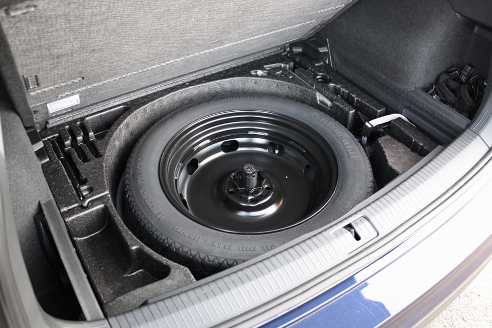 If you take the premise of off-road-ability seriously, you'll be shocked there is a space-saver spare under the boot floor rather than a full-size wheel and tyre.