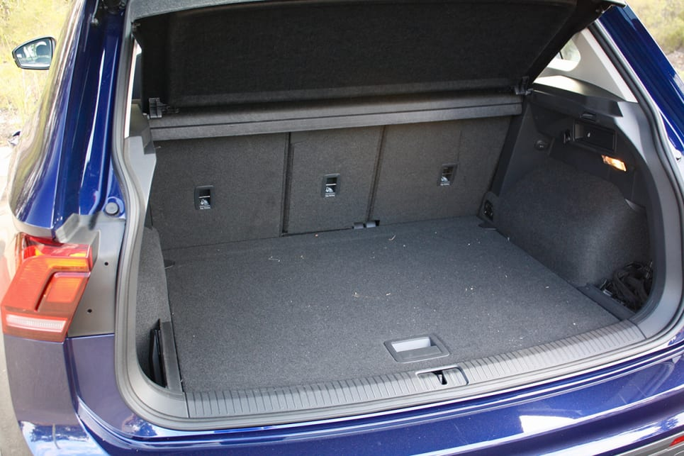 The boot is the best you can get in this segment in terms of space, with up to 610 litres (VDA) when you slide the rear seats all the way forward. (image credit: Matt Campbell)