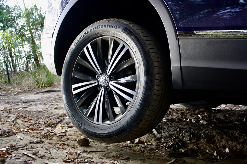 While the tyres are developed specifically for SUVs, they aren't even close to being a serious off-road tyre.