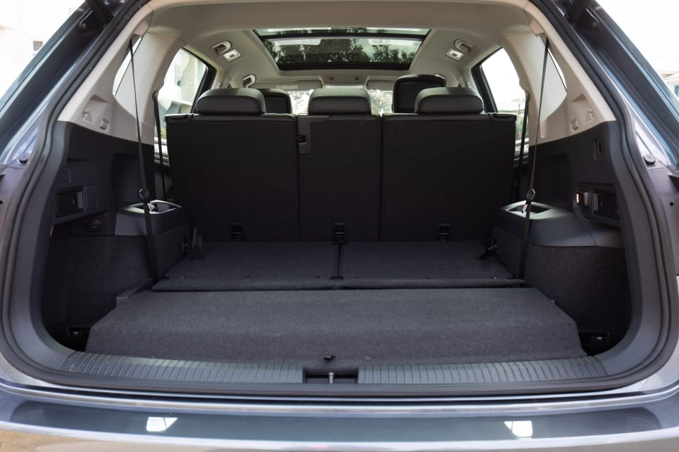 With five seats in use, the boot opens up to 700 litres of space, which is huge for a five seat SUV.