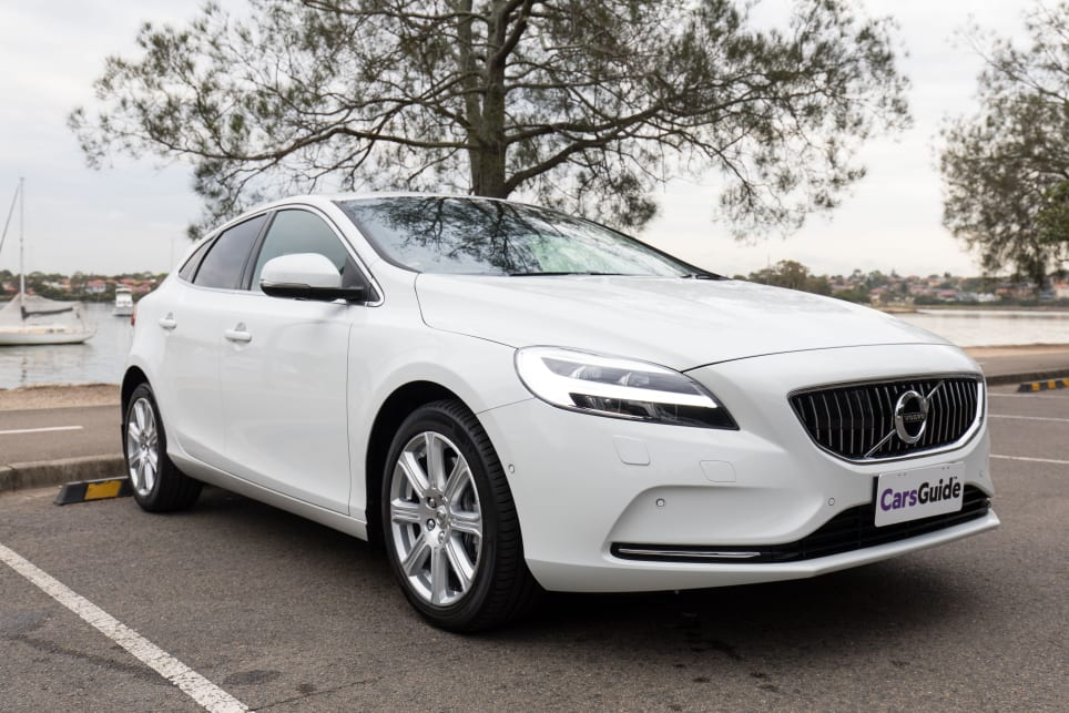 Volvo's outgoing V40 may be getting long in the tooth, but it represents a simpler, perhaps even better time in car design. (image credit: Richard Berry)