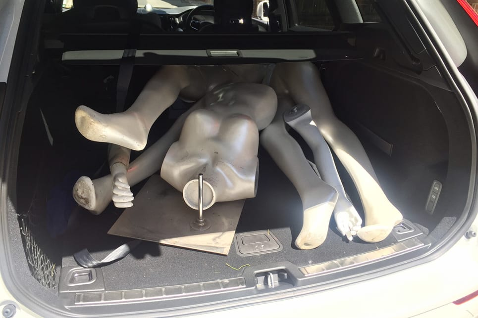 And those two mannequins (see our video on YouTube where we test the XC60's AEB).