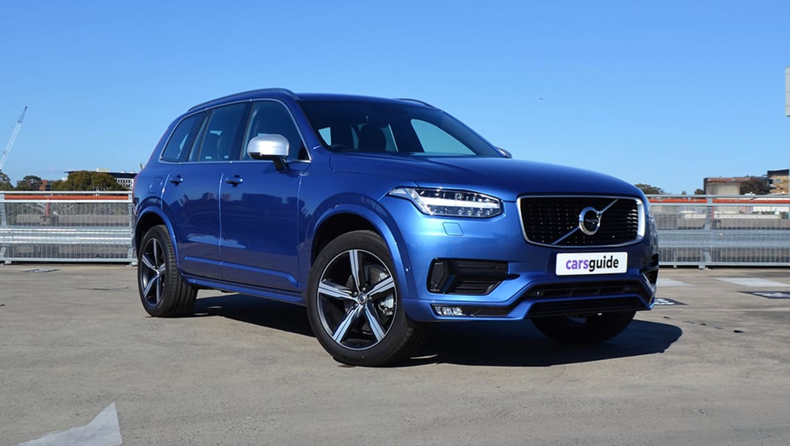 We tested the XC90 R-Design T6. The T6 refers to the engine – it's a four-cylinder petrol – and R-Design is the highest trim level.
