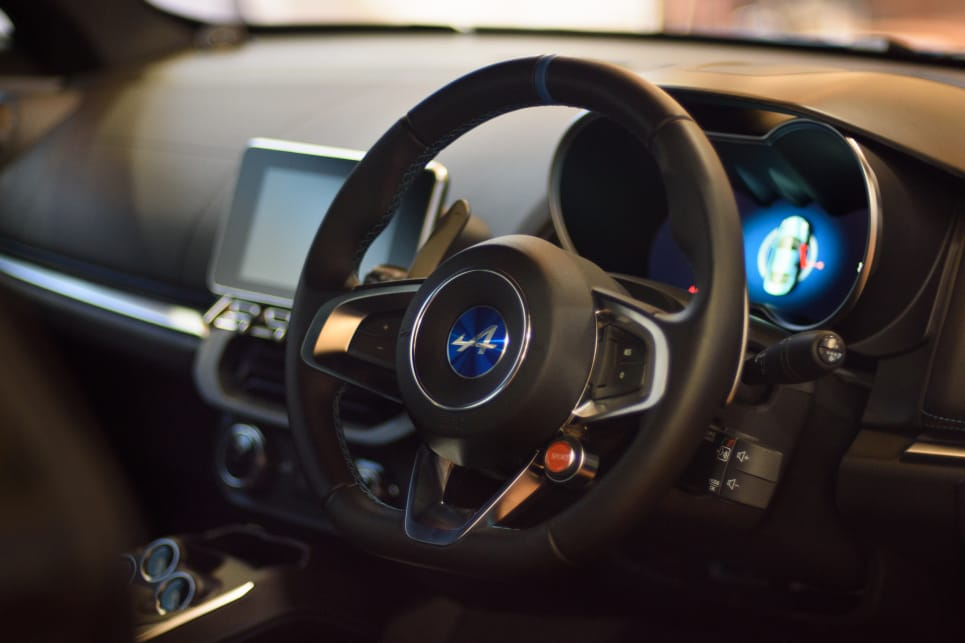 The interior is quite different from most Renault models and does a great job of disguising fittings it shares with the Clio and Megane. (image credit: Tom White)