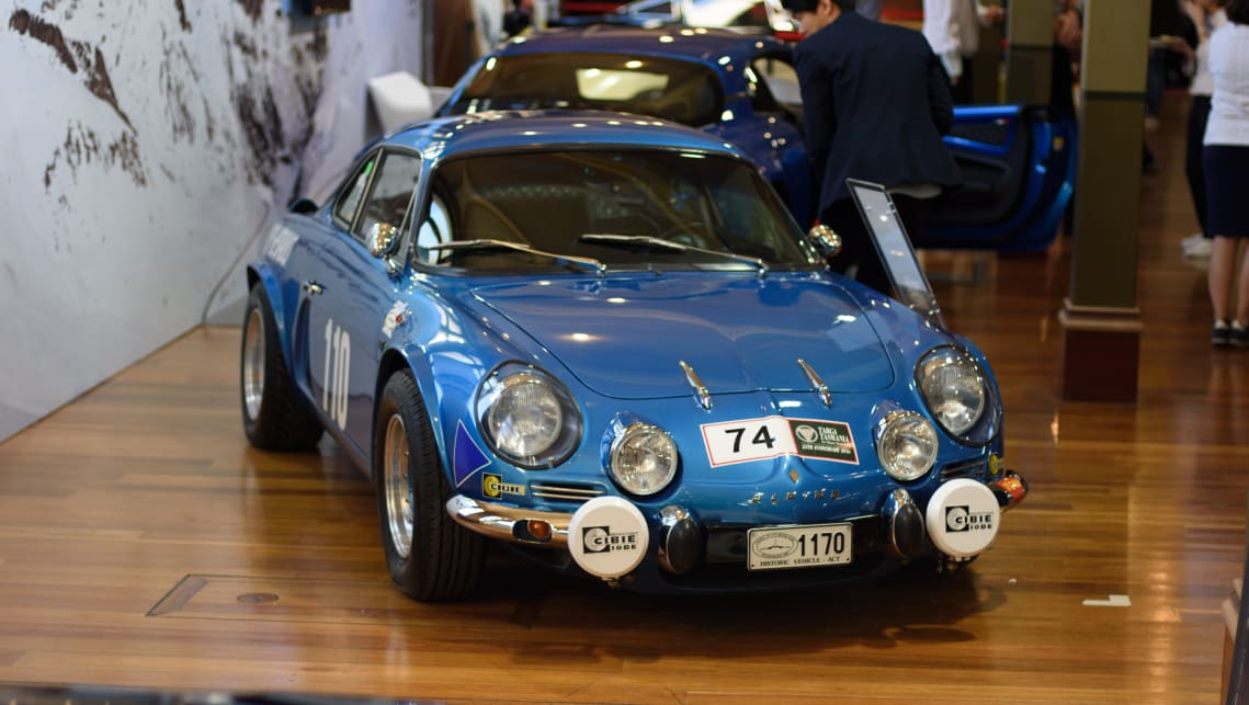 The new model has no shortage of reference points to the original 1961 Alpine A110. (image credit: Tom White)