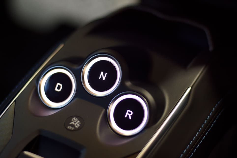 All variants of the A110 come with a seven-speed dual-clutch automatics. (image credit: Tom White)
