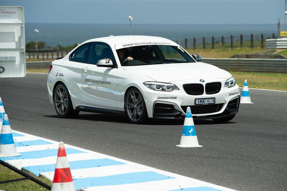 We were invited to sample Bridgestone's rubber at Phillip Island circuit, in a modified version of BMW's 'Driving Experience' course.
