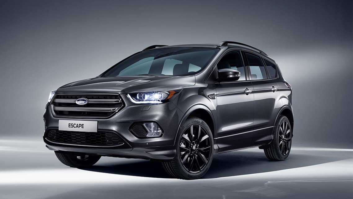 2018 Ford Escape St Line New Sportiest Escape Ever Joins The Lineup Car News Carsguide