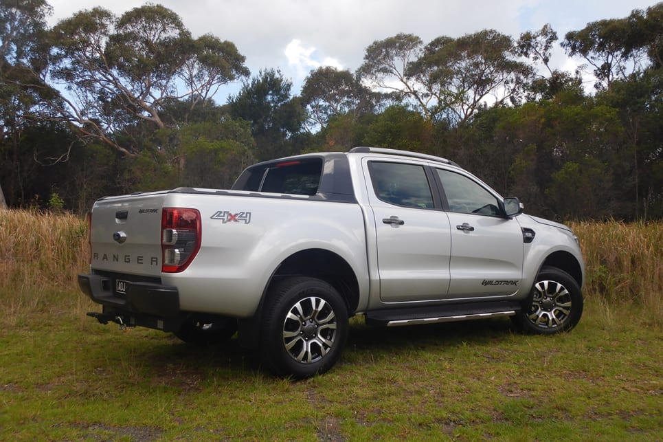 The Wildtrak has the presence of a Yank tank pick-up without the truck-sized bulk.