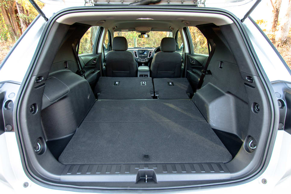 The Holden have 60:40 split-fold seats.