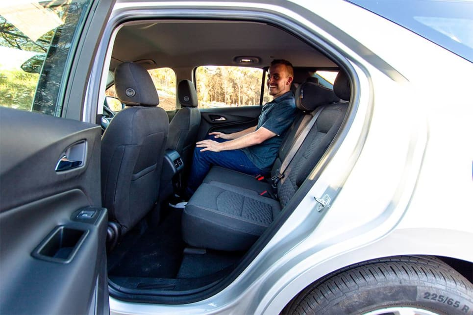 The Equinox was ranked second-best for rear-seat legroom.