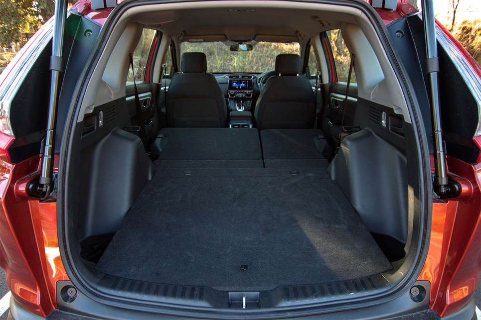 If the boot space dimensions don't offer enough luggage capacity size for you, you could always add a roof rack and cargo box.