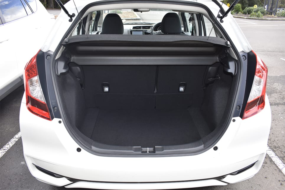 With the rear seats up, there is 354 litres (VDA) of boot space. (image credit: Mitchell Tulk)