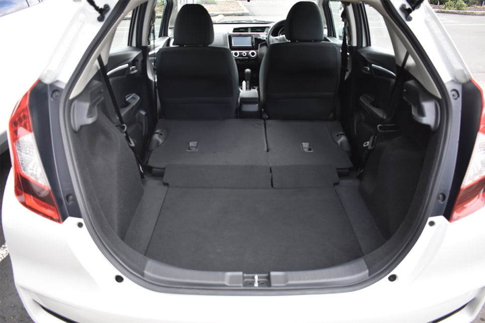 With the seats down, boot space increases to 1314 litres. (image credit: Mitchell Tulk)
