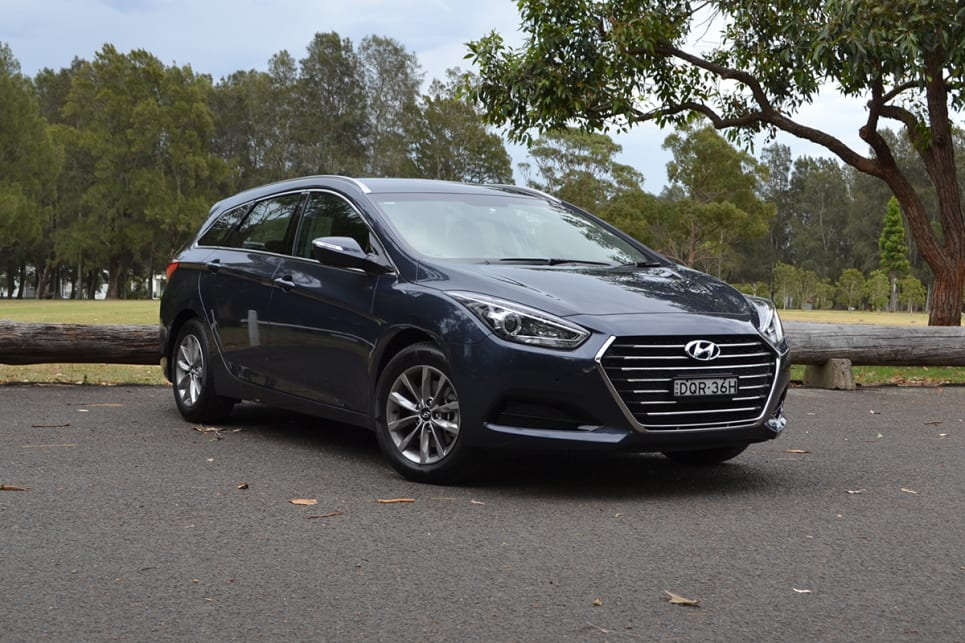 The current i40 has the 'old' Hyundai styling that dates it compared to the new i30, Sonata and Kona. (image credit: Richard Berry)