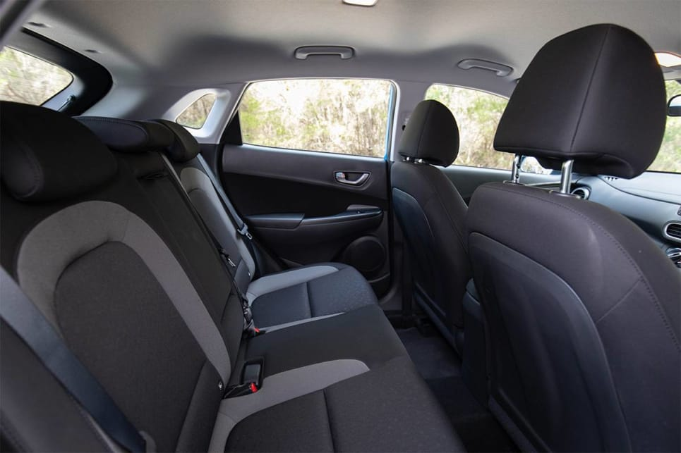 The Hyundai offers slightly better rear seat room than the Mazda. (image credit: Dean McCartney)