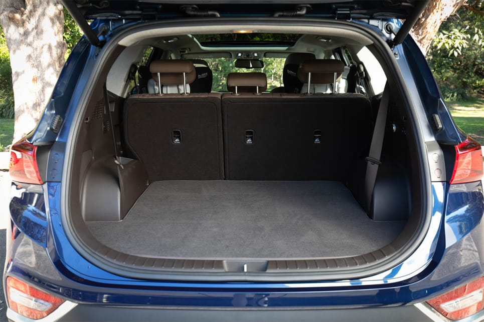With five seats in use you get 547 litres of boot space. (image credit: Dean McCartney)