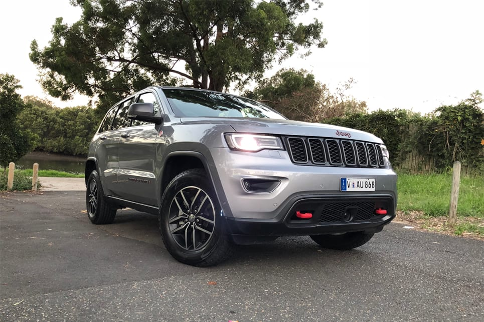 Remember the old Grand Cherokee? Well, it looks a lot like that, only with a sprinkling of off-road toughness. (image credit: Andrew Chesterton)