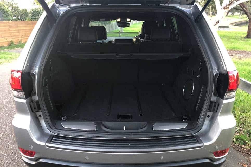 With the rear seats up, there is 1028 litres of boot space. (image credit: Andrew Chesterton)