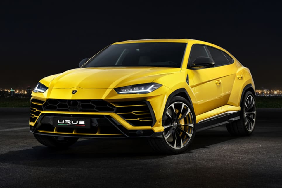 Lamborghini Urus 2018 revealed and pricing and spec