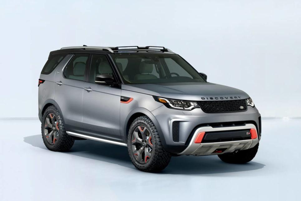 2019 Land Rover Discovery SVX: Design, Specs >> Land Rover Discovery Svx 2018 Revealed In Frankfurt Car News