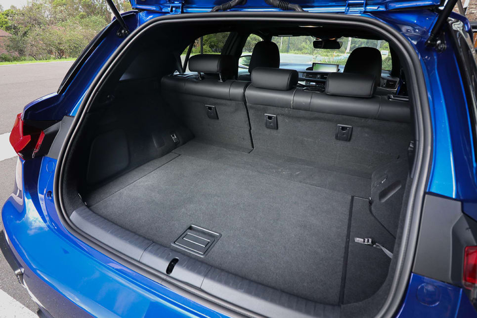 The boot offers 375 litres with the seats up. (image credit: Tim Robson)
