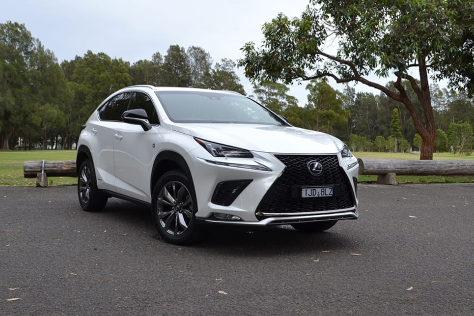 The F Sport grade brings that expensive cheese-grater-made-of-Onyx-look to the grille. (image credit: Richard Berry)