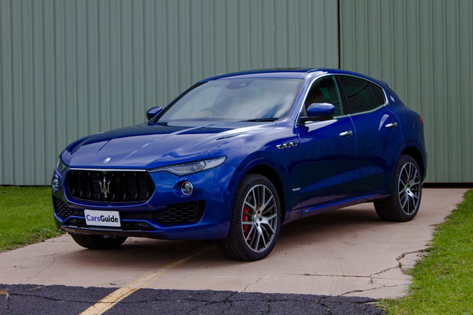 The Levante looks exactly how a Maserati SUV should.