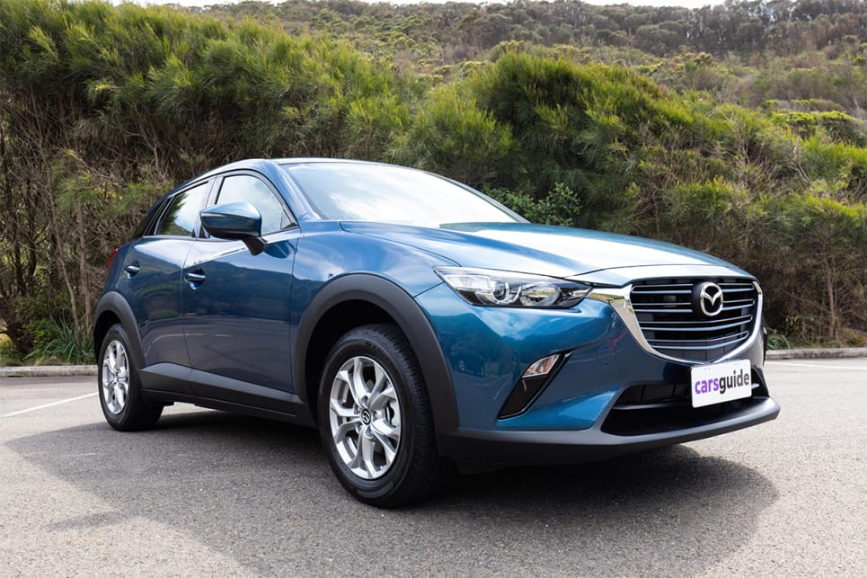 Mazda has done a terrific job of shrinking it's bold body design into the compact SUV space. (image credit: Dean McCartney)