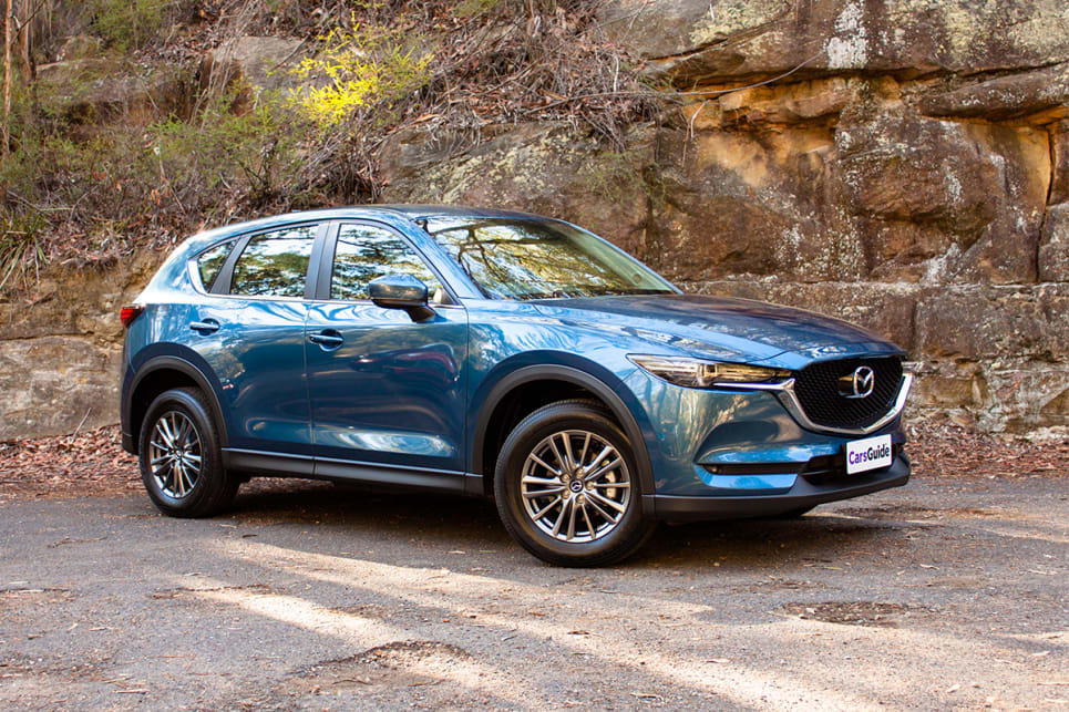 There is a style leader in this pack, and it's the Mazda CX-5.