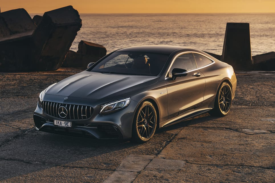 The S-Class coupe looks long. It's obvious to see why the cars all run on 20-inch wheels - anything smaller would look hilarious. (S63 model shown)
