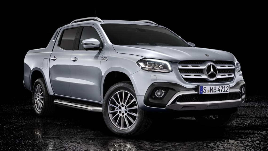 The V6-powered Mercedes-Benz X350d delivers 190kW of power and 550Nm of torque.