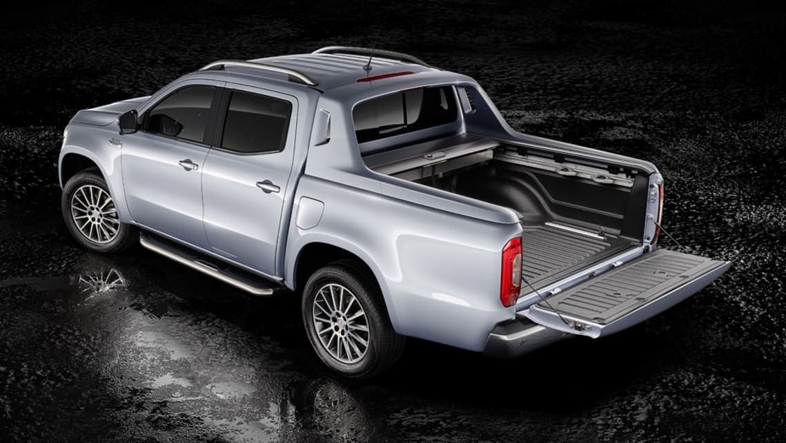 The X350d will join the X-Class line-up towards the end of this year following the X220d and X250d launch in April.