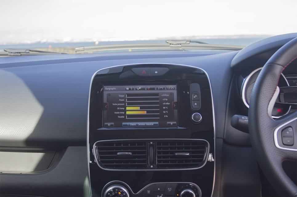 The 7.0-inch 'R-Link' touch screen software runs the four speaker stereo with DAB digital radio, Bluetooth and USB. (image credit: Peter Anderson)