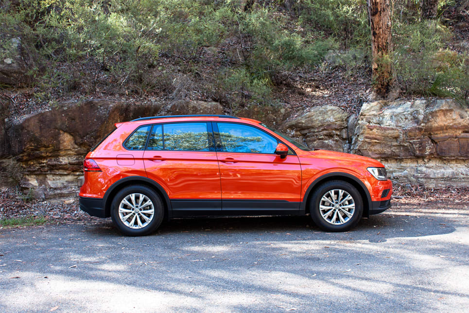 I like the styling of the Tiguan, but I think the mid-life update will be an important one.