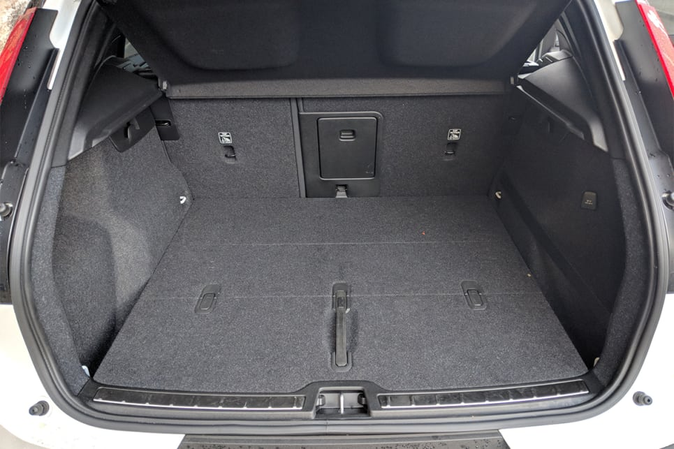 With the rear seats up, there's 460 litres of boot space. (image credit: Dan Pugh)