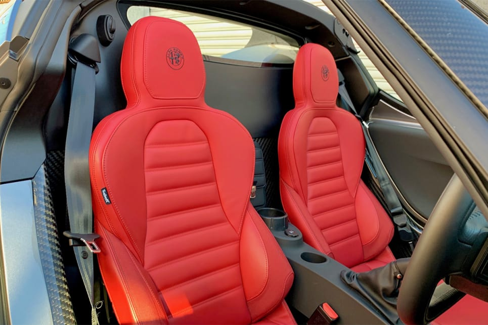 The seats are hard and you can't adjust the lumbar or height.