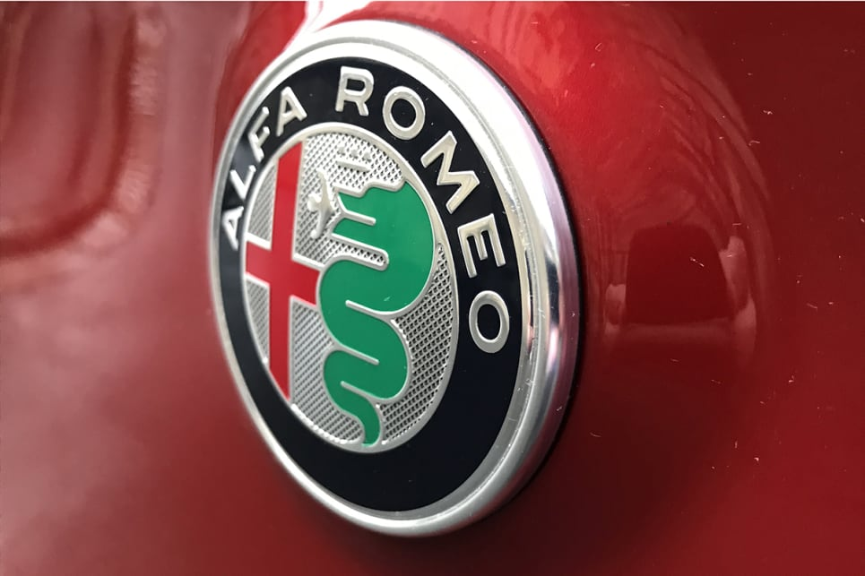 Alfa Romeo's classic badge is a symbol of Milan.