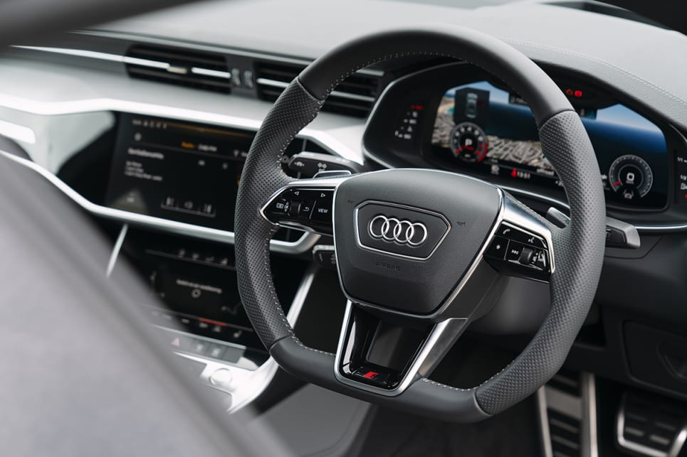 Goodies include Audi's 12.3-inch 'Virtual Cockpit' digital driver information display.