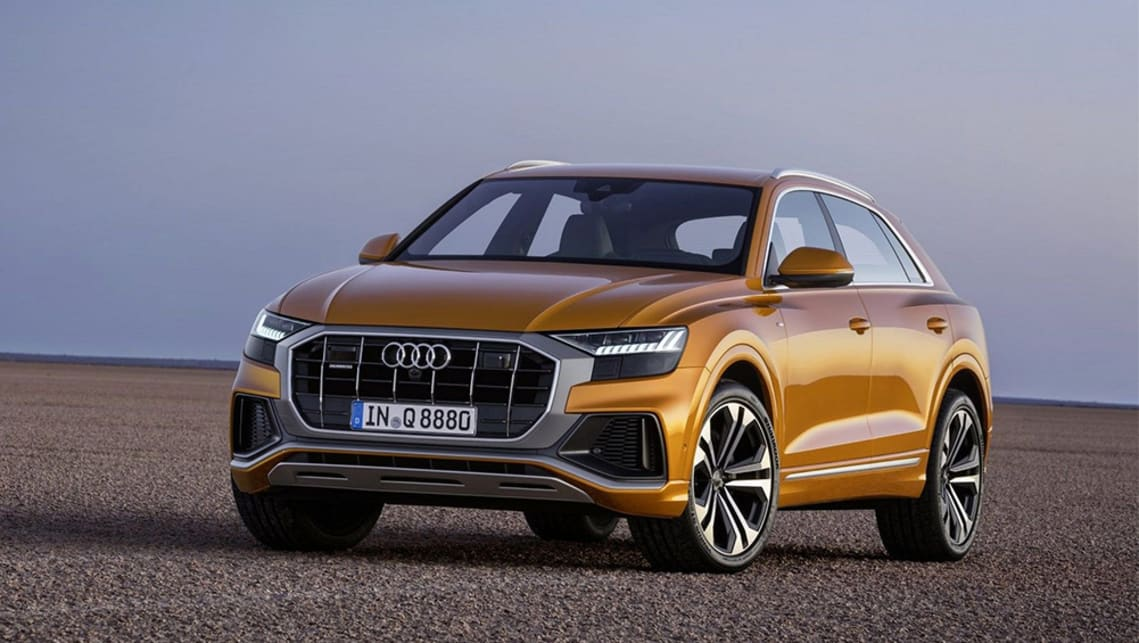 The Audi Q8 2019 model is set to arrive in the first quarter of next year, offering a sportier option above the Q7 family model.