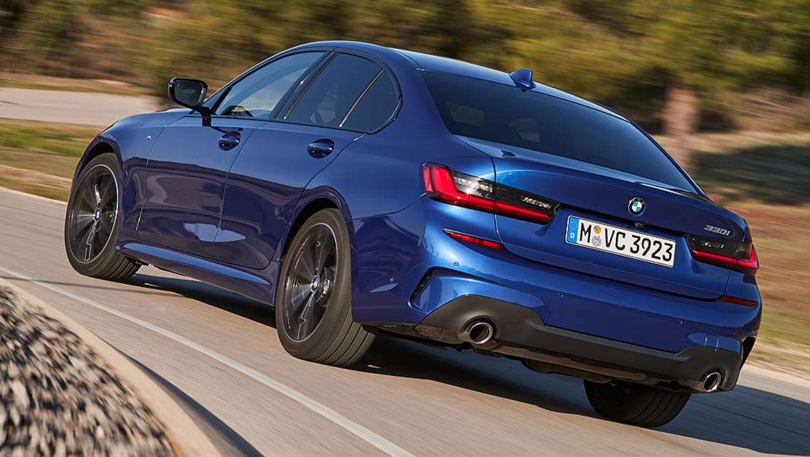 The top-spec 330i produces 190kW/400Nm and will hit 0-100km/h in 5.8 seconds.