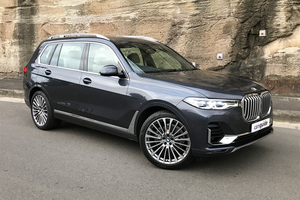 The X7 is a new model for BMW, and much more than just a stretched X5.