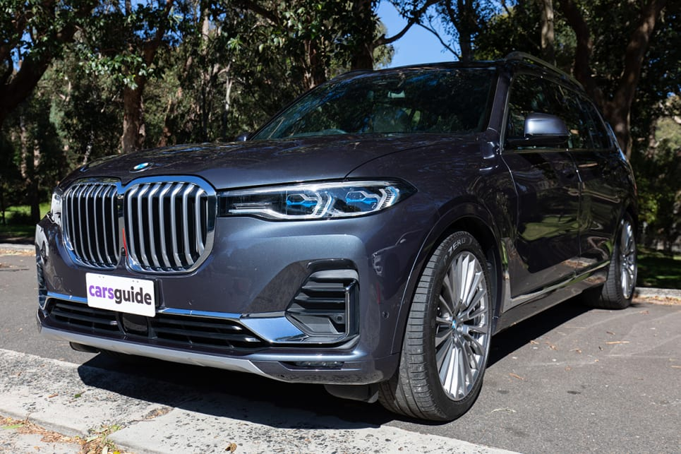 The BMW X7 is huge, has all the extras you could hope for and a price to reflect that. (image: Dean McCartney)
