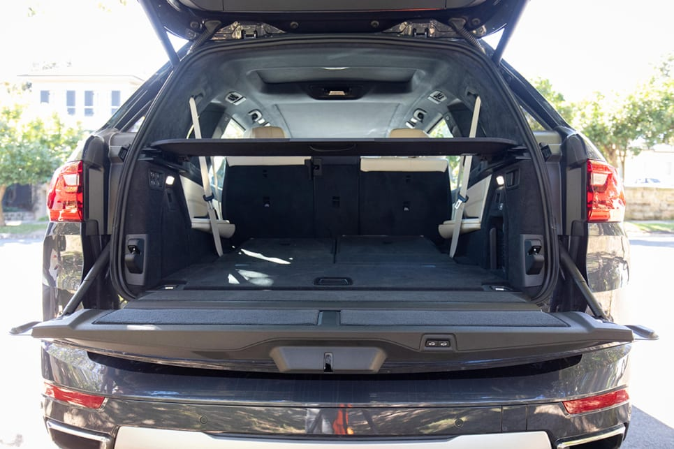 There's so much room inside the X7. (image: Dean McCartney)