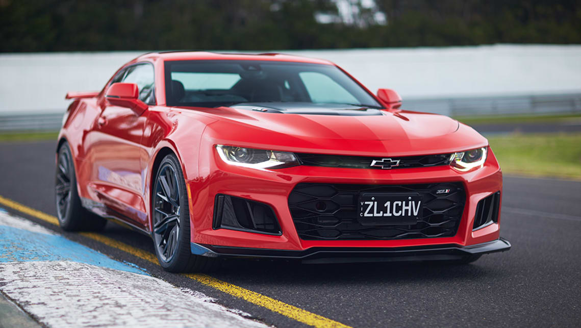 The ZL1's monstrous engine may be its centrepiece, but the days of yank muscle cars lacking overall design synergy are long gone.
