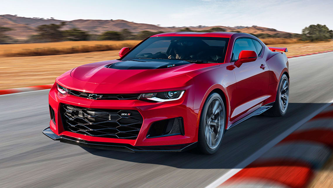 Chevrolet Camaro Zl1 Axed Supercharged V8 Muscle Car Gone As Hsv