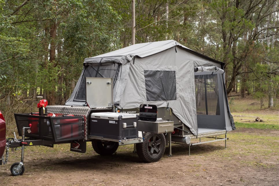 Although it's only small and light, the Brumby has long been Cub's most sought after camper trailer. (image credit: Brendan Batty/campertrailerreview.com.au)
