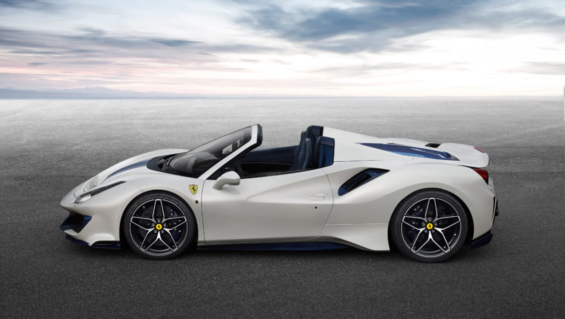 Ferrari 488 Pista Spider 2019 Revealed Car News Carsguide