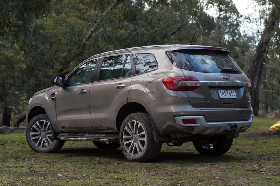 The Ford Everest is one of the better examples of a ute-based 4WD wagon.